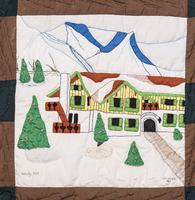 Vintage Vail Quilt Square, Christiana, 1963