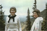 Teri Fray and Barbara Mooney  photo 1980