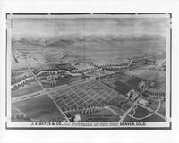 Aerial Map - 1888 - Englewood, Colorado