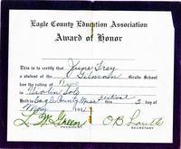 Award of Honor