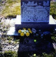 Headstone of Darrell Guy Barnes