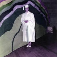 Alice Pierson graduation photo, 1956