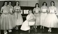Minturn High School glee club, 1957