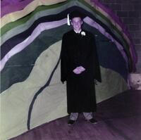 Donald Starr graduation photo, 1956
