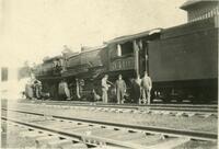 Denver and Rio Grande Railroad engine 3410