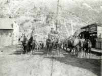 Lumber wagons
