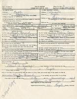 Clayton Gerard's Birth Certificate