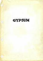 Gypsum, Dotsero: Page 1