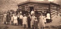 Horace Tabor's Log House