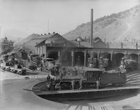 Denver & Rio Grande Roundhouse & Turntable