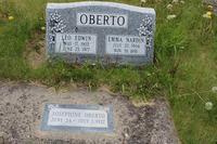 Emma Nardin Oberto's Headstone